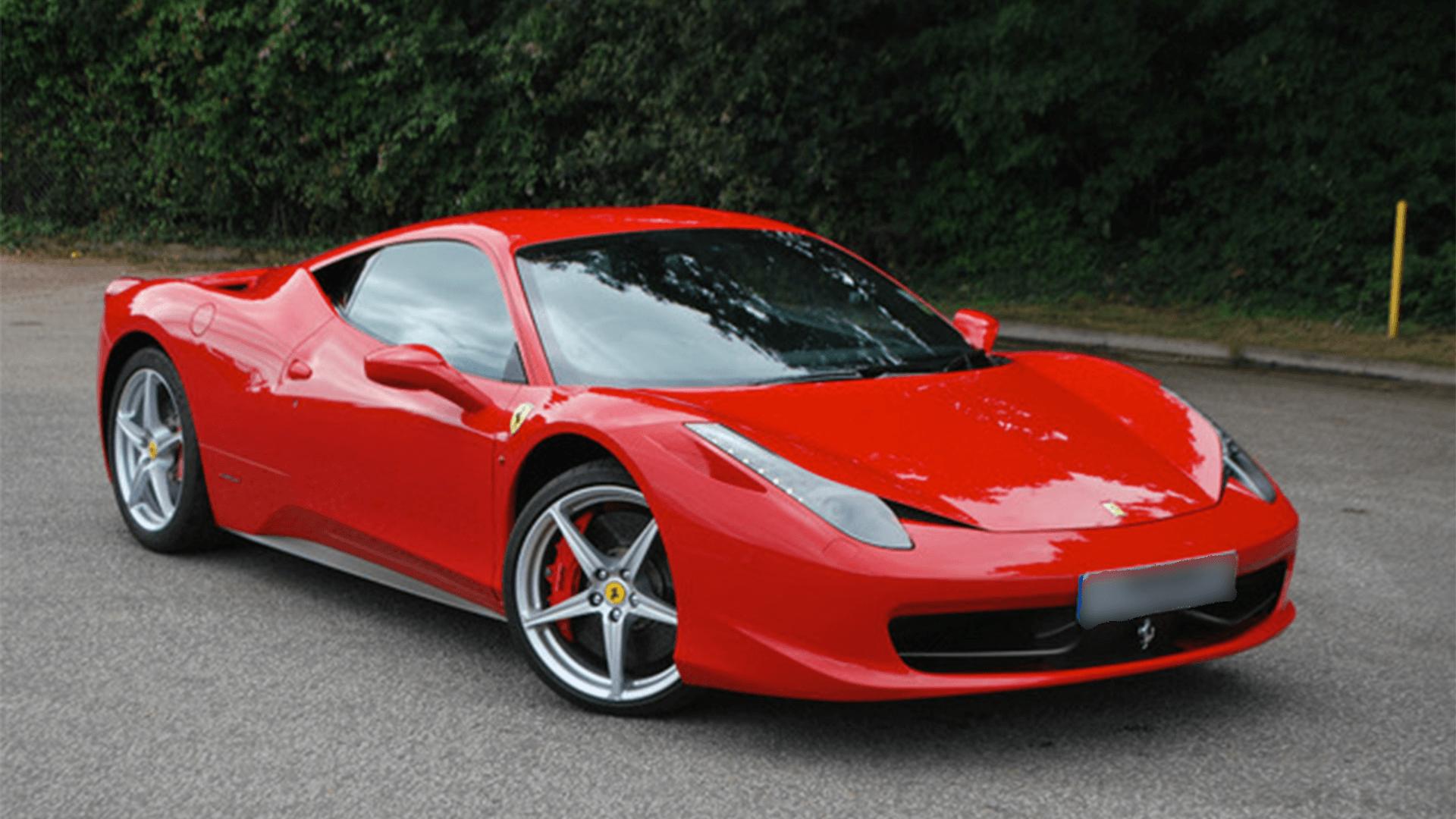 ferrari 458 italia coupe rental 458 italia coupe for hire