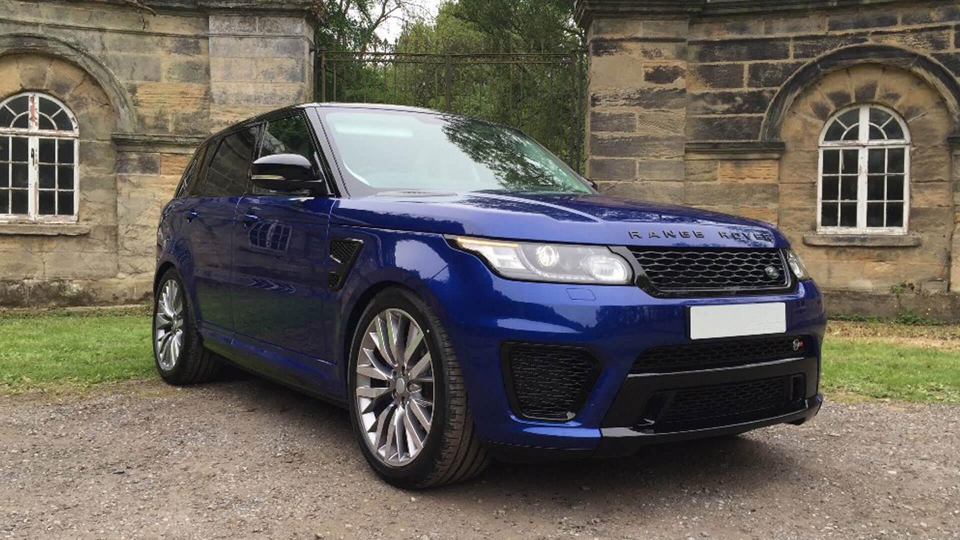 Range Rover Sport Svr Hire Svr Rental And Hire Packages