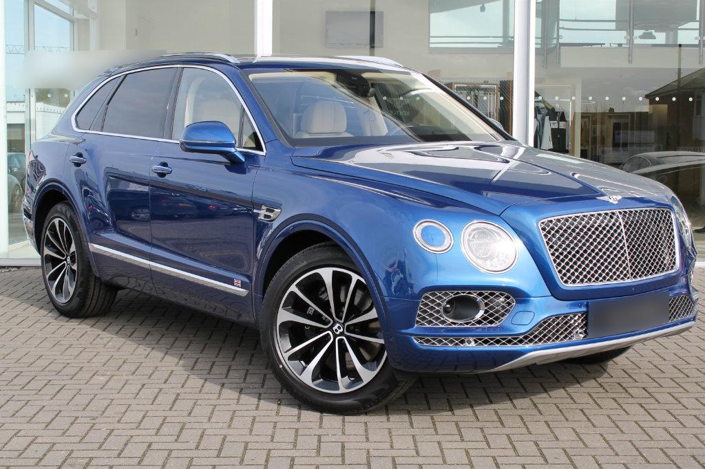 Blue Bentley Bentayga For Hire Royal Rentals Car Hire