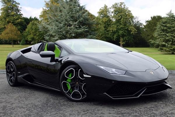 Black Lamborghini Huracan For Hire Rent A Lamborghini