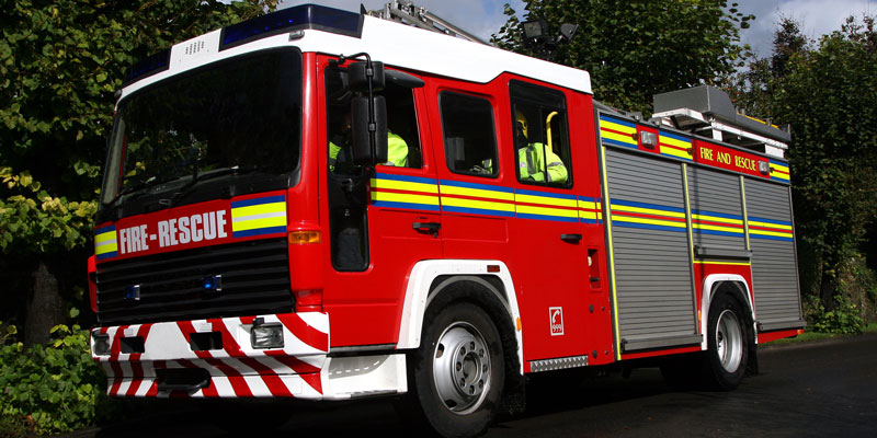 Fire Engine Prom Transport