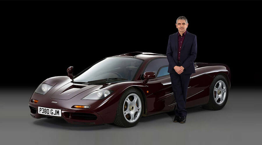 rowan atkinson and mclaren