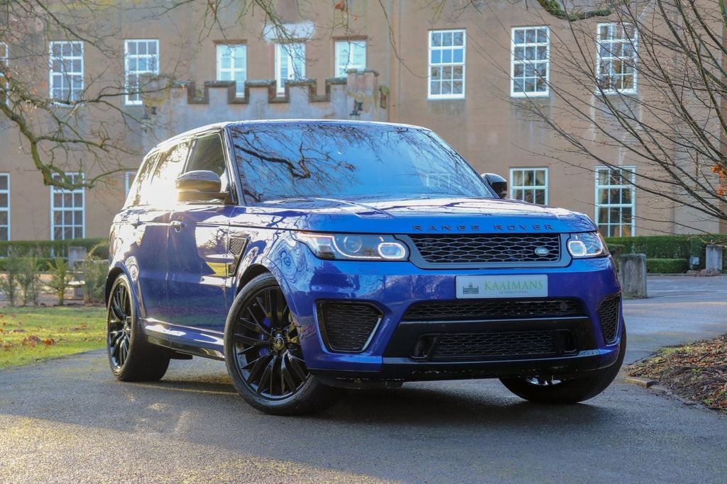 Range Rover Sport SVR 1
