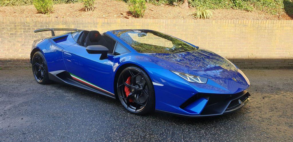 Lamborghini Huracan Performante Spyder 1