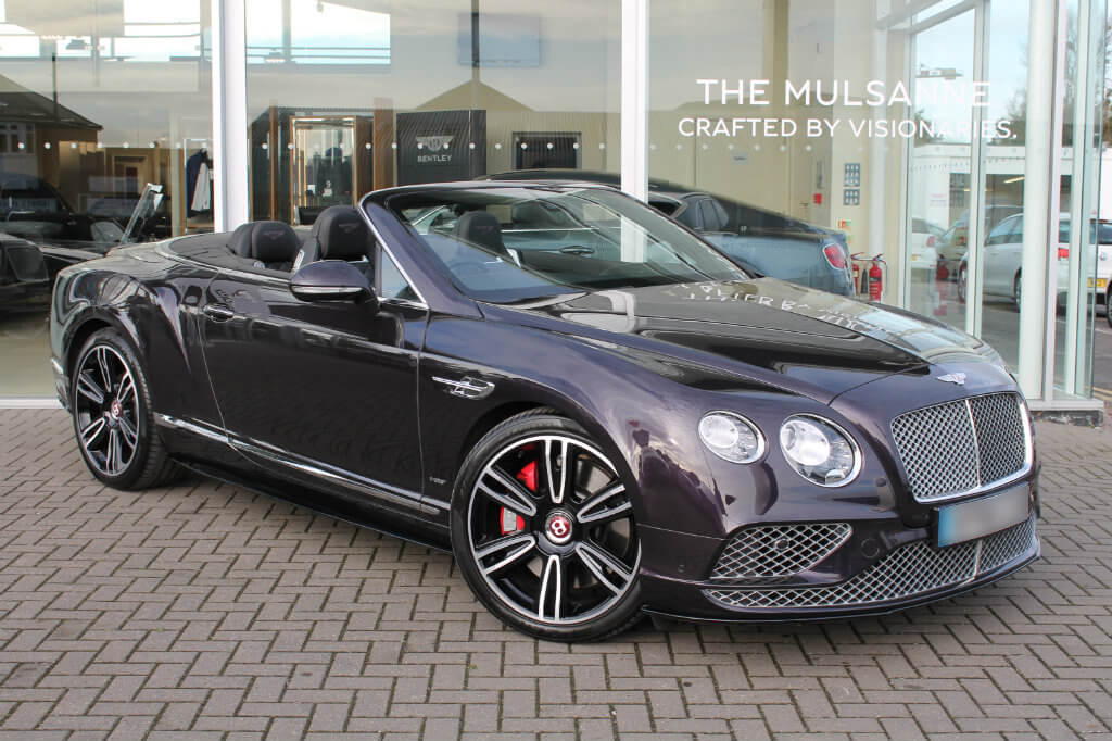 Bentley Continental GTC 1