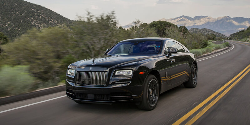 Rolls Royce Wraith On Road