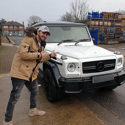 Mercedes Benz G63 Amg Client